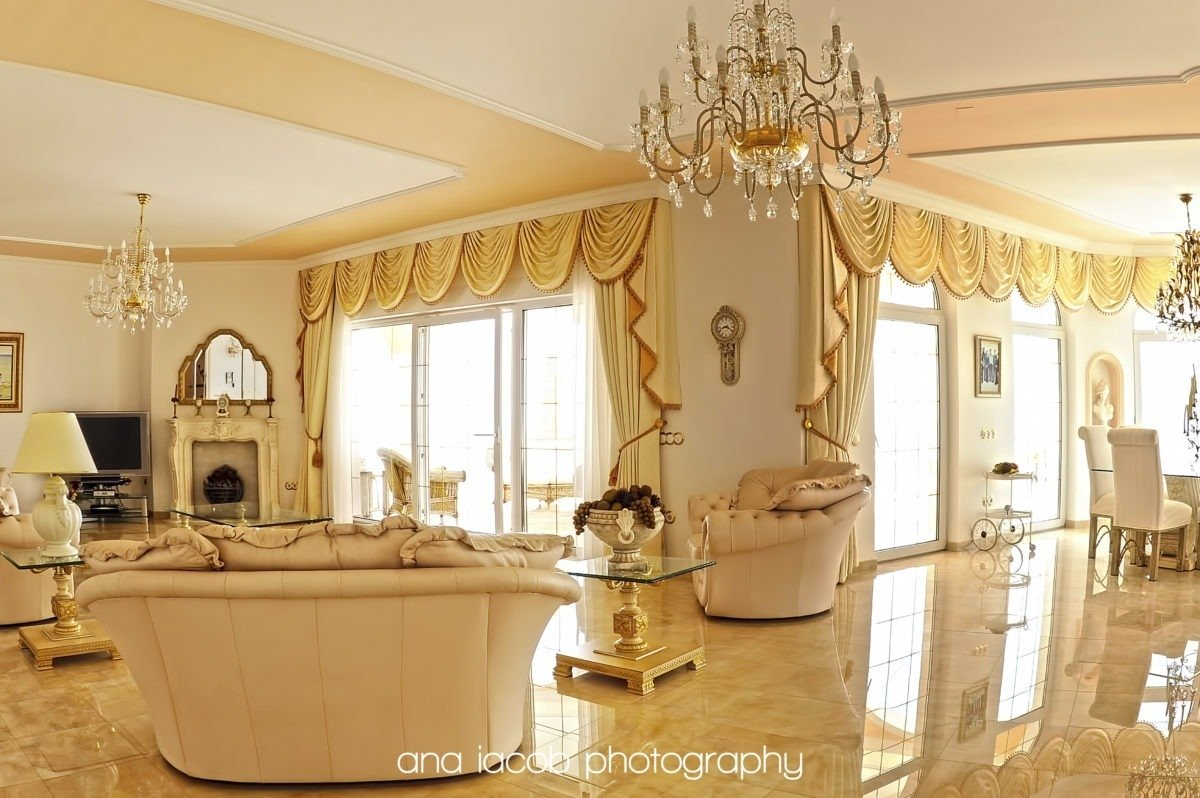 modern interior design photography