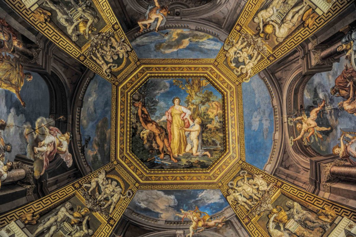 Visiting Vatican museum photography