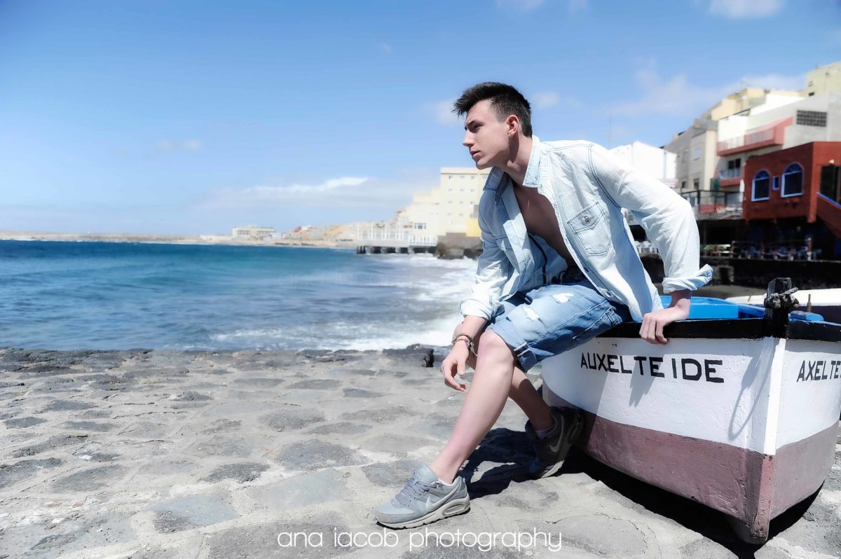 Male Models Photography on location