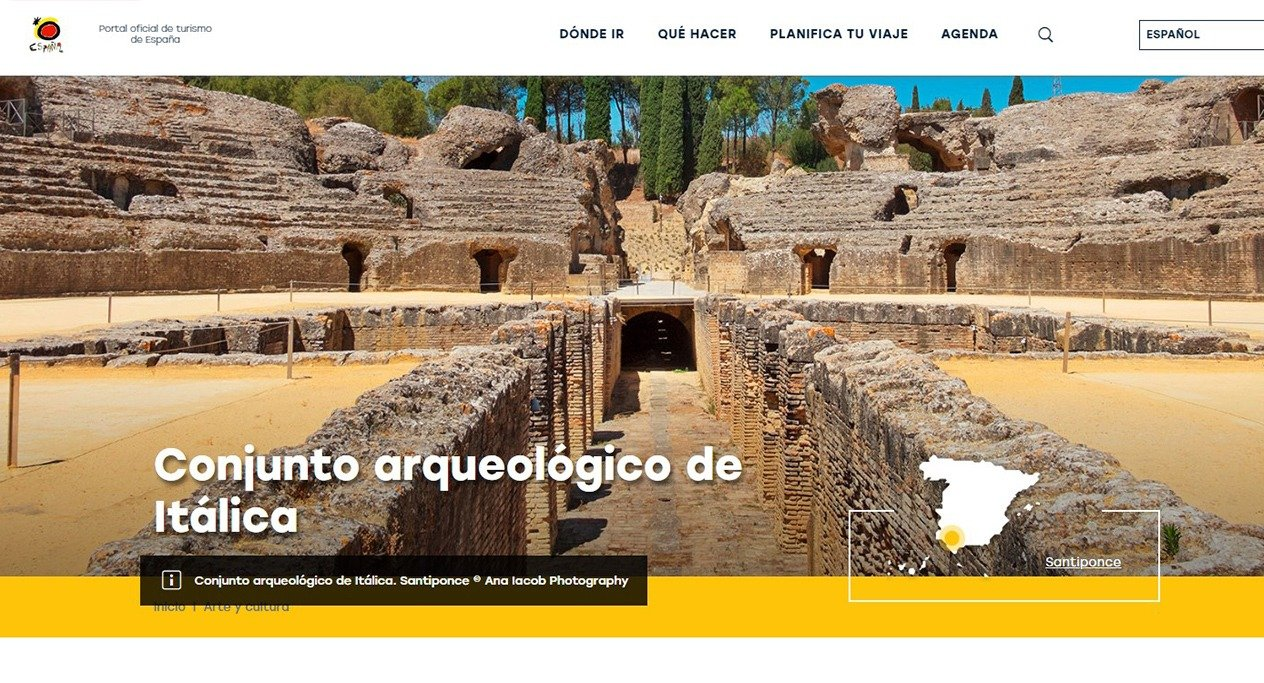 ana iacob in turismo de espana
